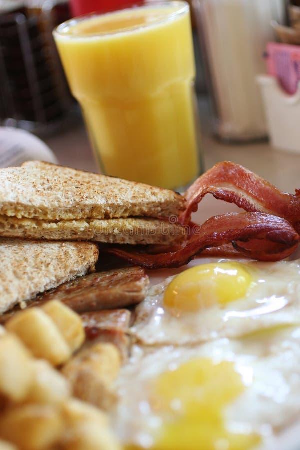 Het ontbijt van Traditionnal royalty-vrije stock afbeelding