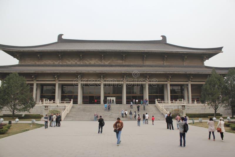 Het ontdekken van China: Het Museum van de Shaanxigeschiedenis royalty-vrije stock afbeelding