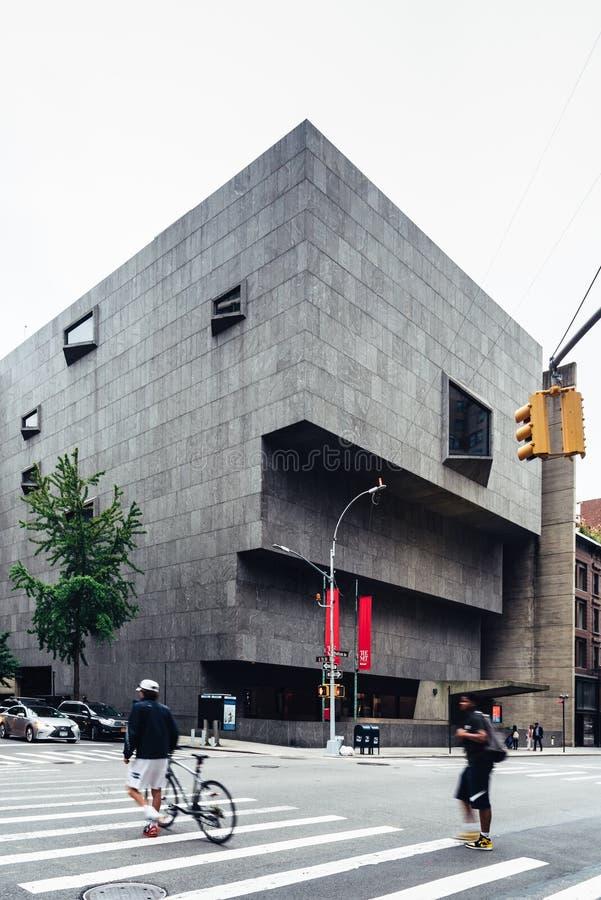 Het Ontmoete Breuer-Museum in New York royalty-vrije stock afbeelding