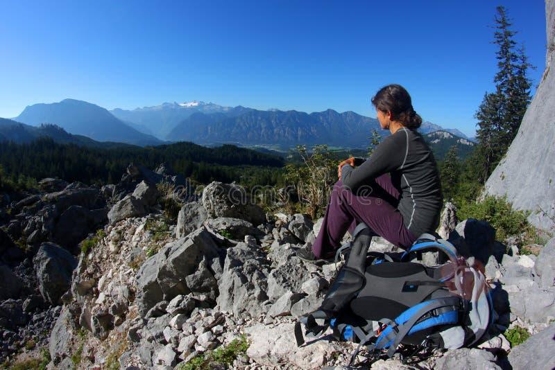 Het ontspannen in de bergen