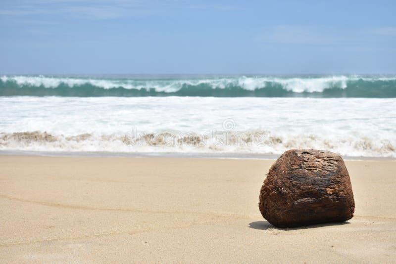 Het ontspannen en verse oceaansamenstelling stock fotografie