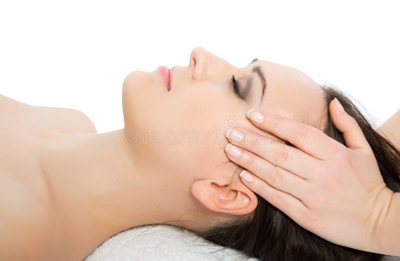 Leid massage royalty-vrije stock afbeeldingen