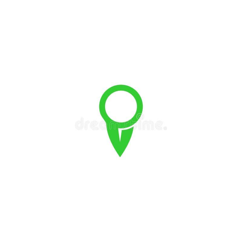 Het ontwerp van het adresembleem stock fotografie