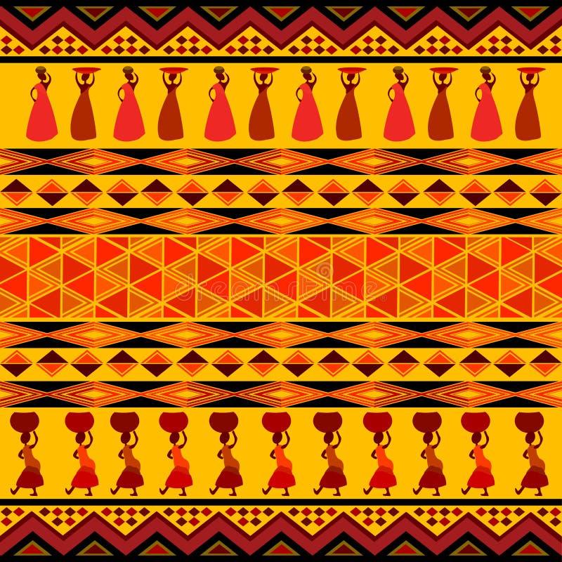 Het ontwerp van Afrika royalty-vrije illustratie