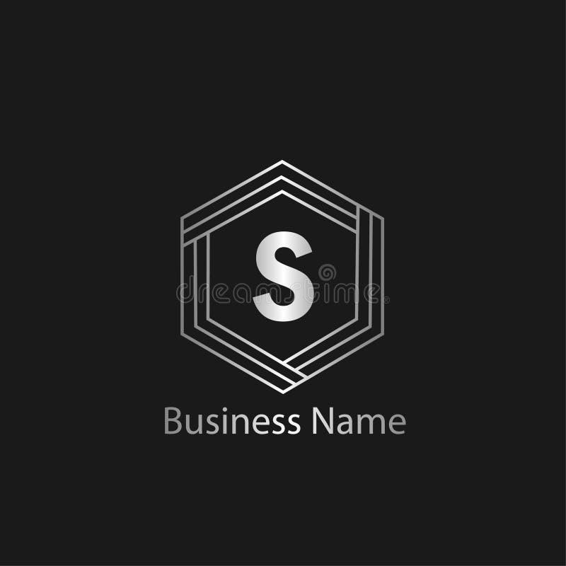 Het ontwerp van het brievens embleem vector illustratie