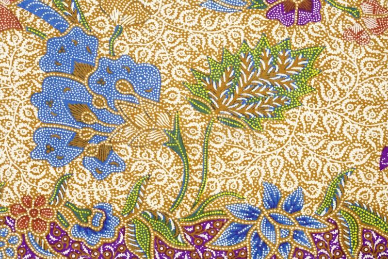 Het ontwerp van de batik stock foto