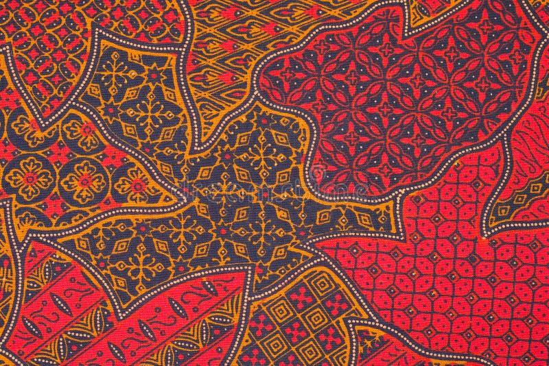Het ontwerp van de batik royalty-vrije stock fotografie