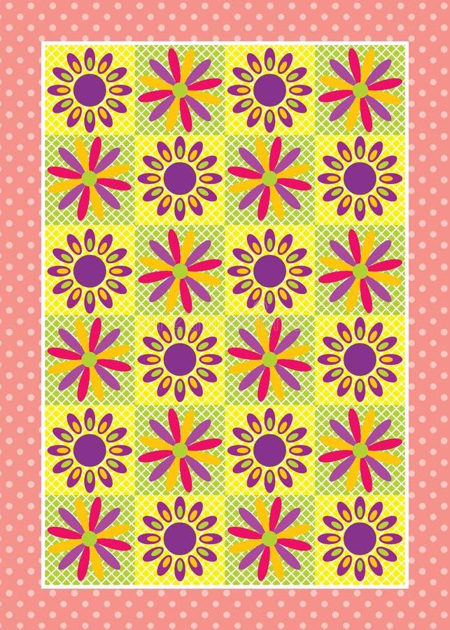 Het Ontwerp van de bloem stock illustratie