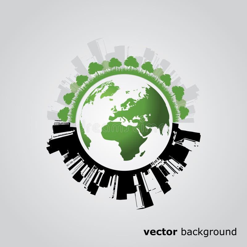 Het Ontwerp van de Bol van Eco royalty-vrije illustratie