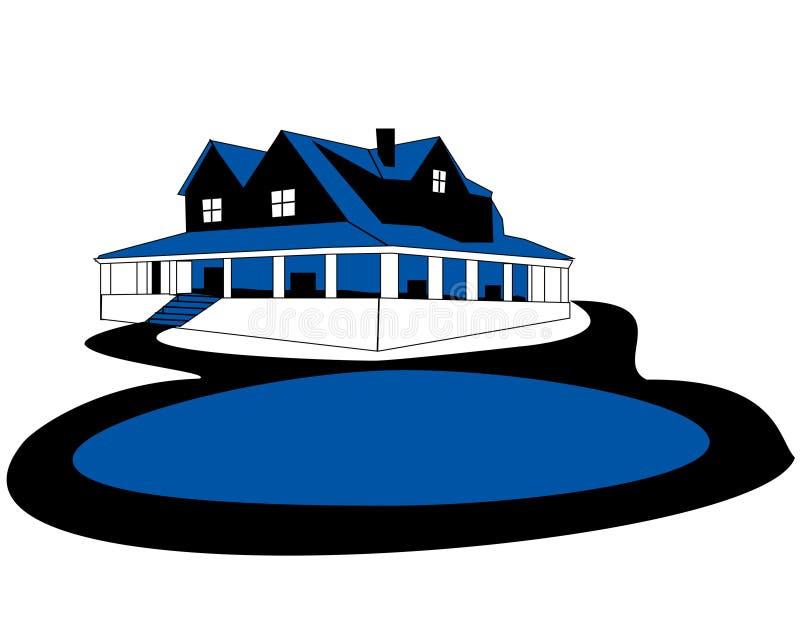 Het ontwerp van de bouw royalty-vrije stock afbeelding