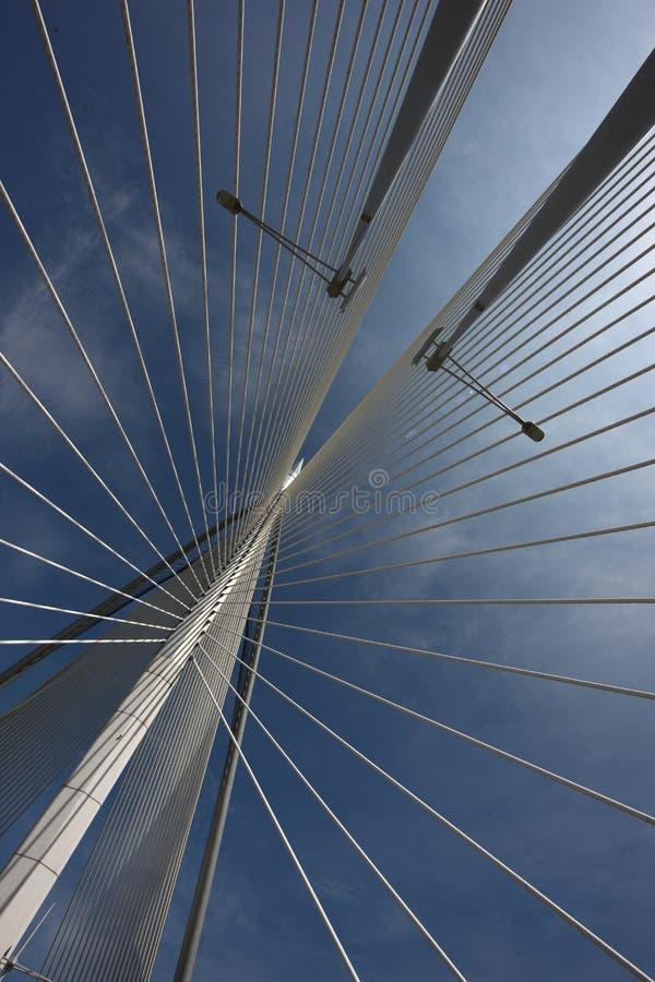 Het ontwerp van de brugarchitectuur royalty-vrije stock foto