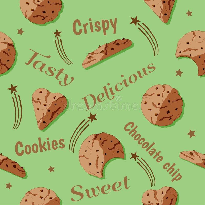 Het ontwerp van de chocoladeschilferviering stock foto's