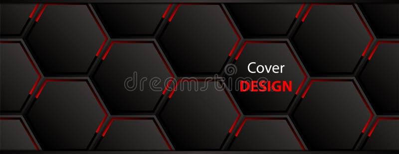Het ontwerp van de dekking vector illustratie