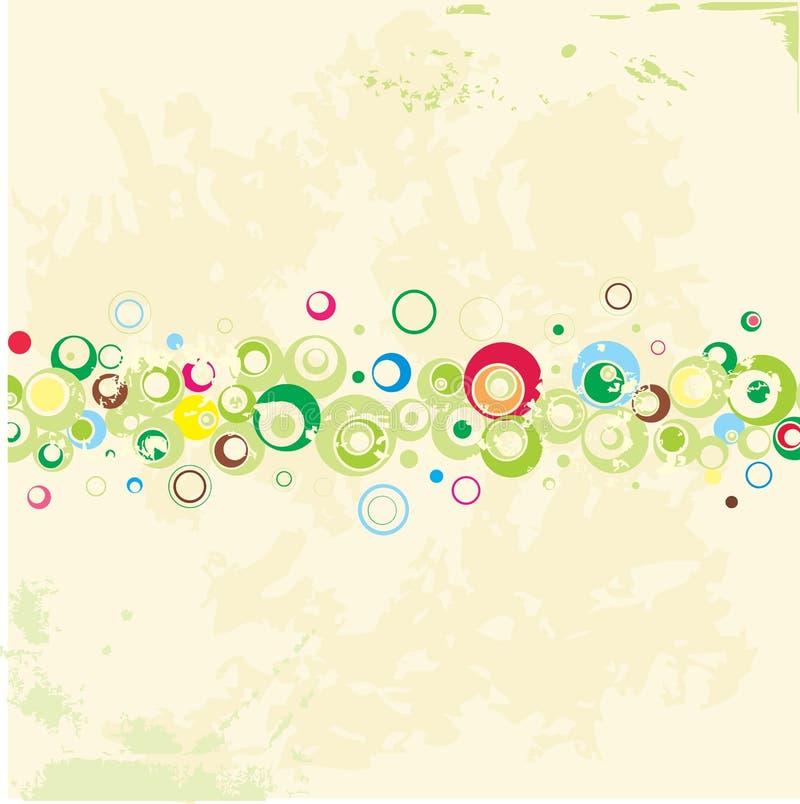 Het ontwerp van de ecologie. Vector. royalty-vrije illustratie
