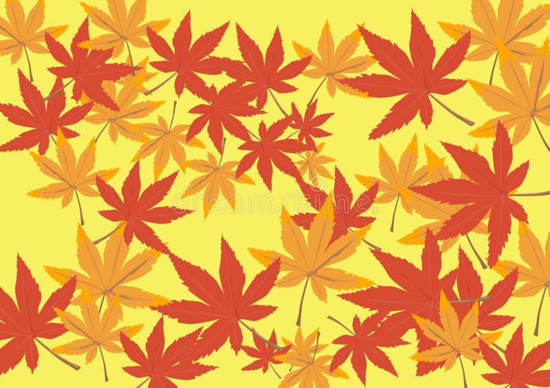 Het ontwerp van de herfst royalty-vrije stock afbeeldingen