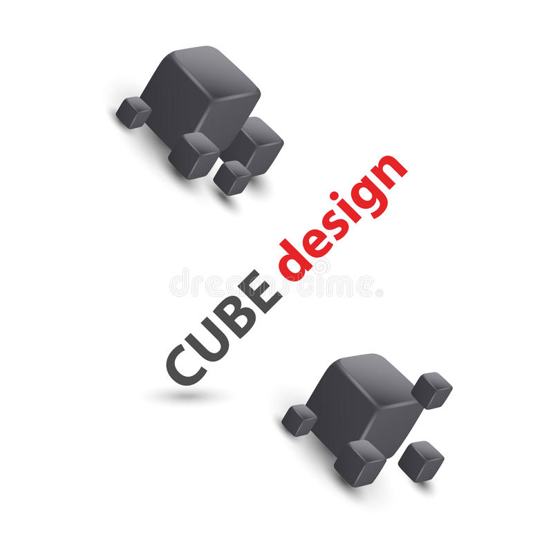 Download Het Ontwerp Van De Het Conceptenkaart Van De Kubus Vector Illustratie - Illustratie bestaande uit af, samenvatting: 29500116
