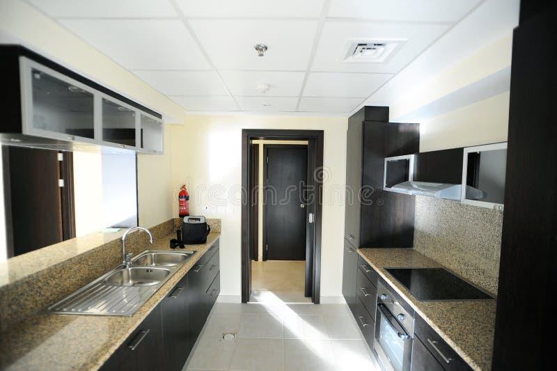 Het ontwerp van de keuken stock foto