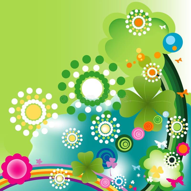 Het ontwerp van de lente stock illustratie