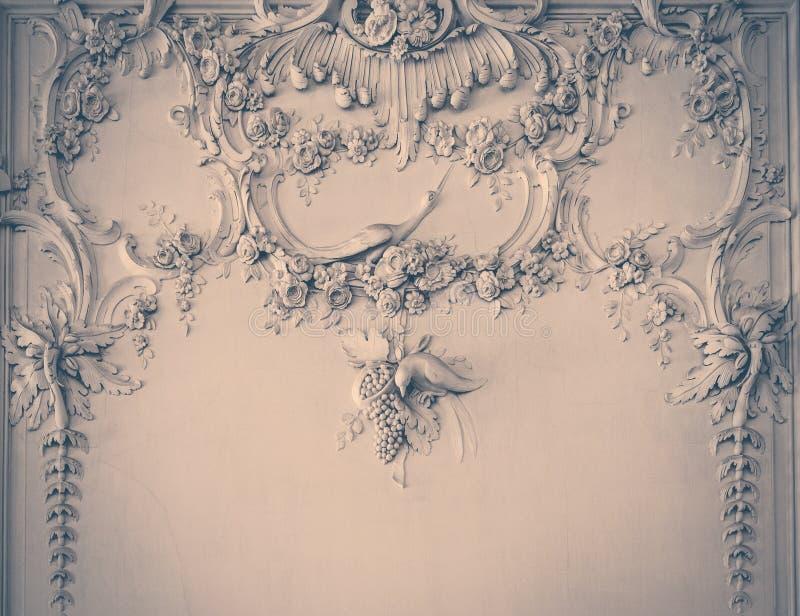 Het ontwerp van de luxemuur royalty-vrije stock foto