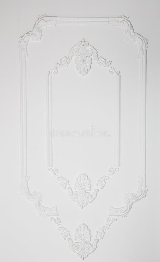 Het ontwerp van de luxemuur stock foto