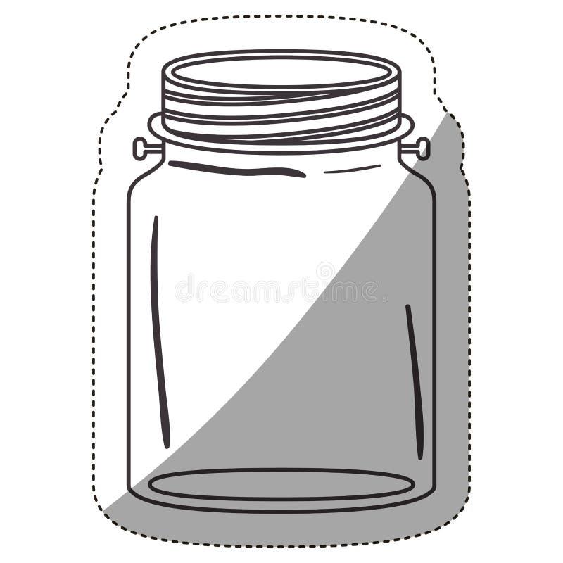 het ontwerp van de metselaarkruik vector illustratie
