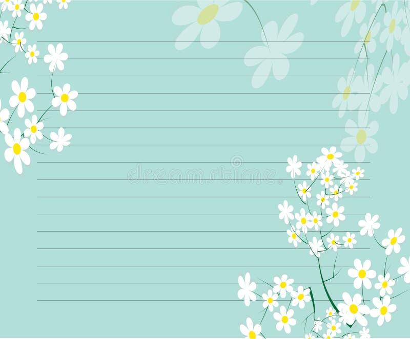 Download Het Ontwerp Van De Schrijfpapierflora Vector Illustratie - Illustratie bestaande uit d0, samenvatting: 54078585
