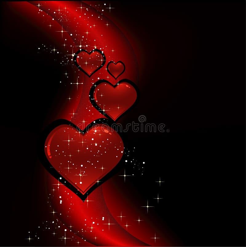 Het ontwerp van de valentijnskaart vector illustratie
