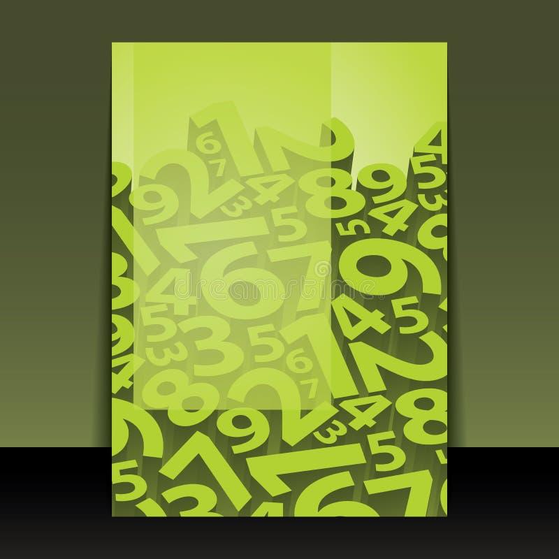 Het Ontwerp van de vlieger of van de Dekking vector illustratie