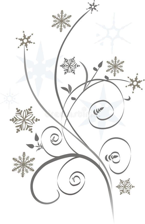 Het ontwerp van de winter stock afbeelding