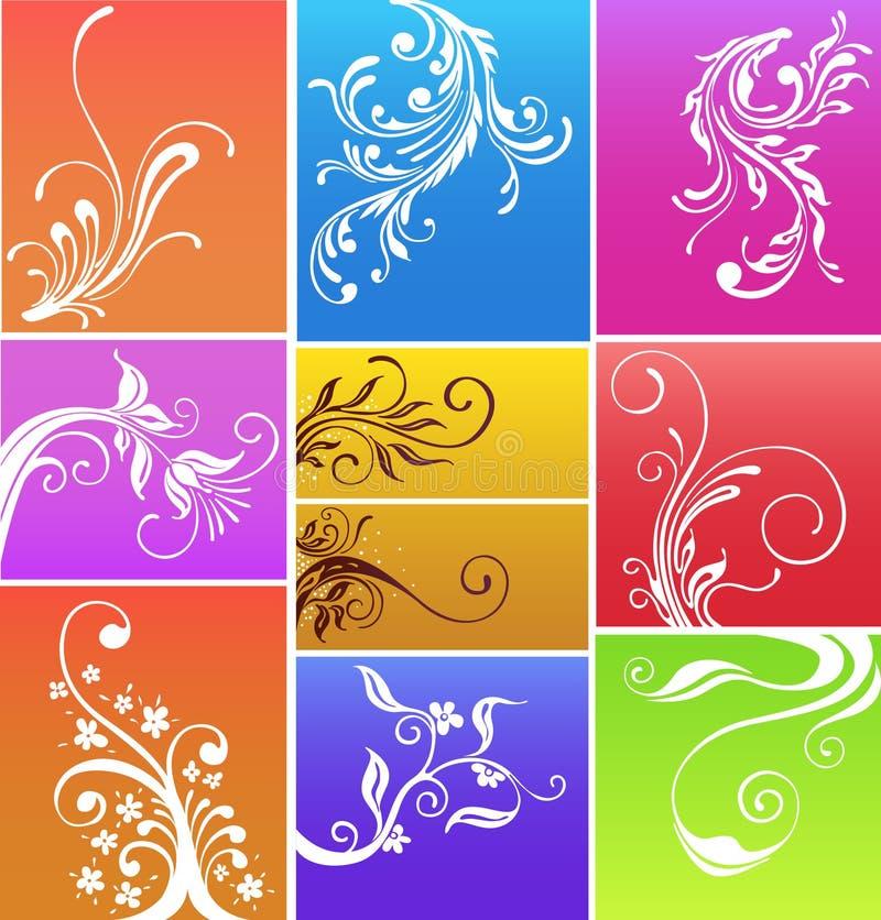 Het ontwerp van Flores royalty-vrije illustratie