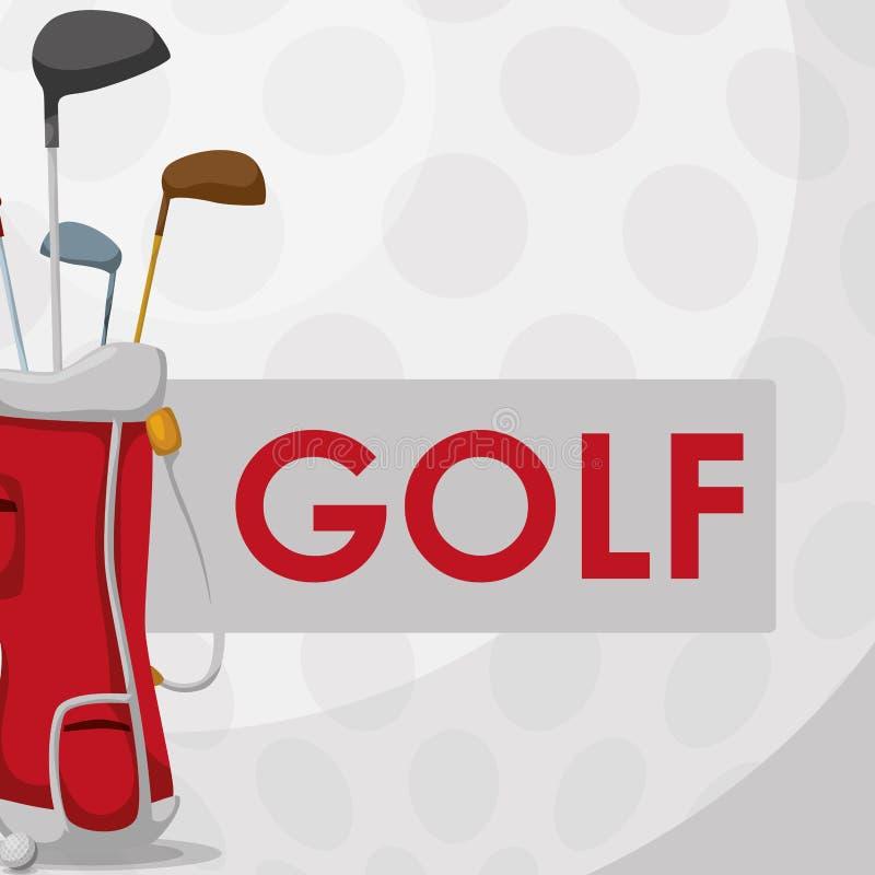 Het ontwerp van het golfpictogram royalty-vrije illustratie