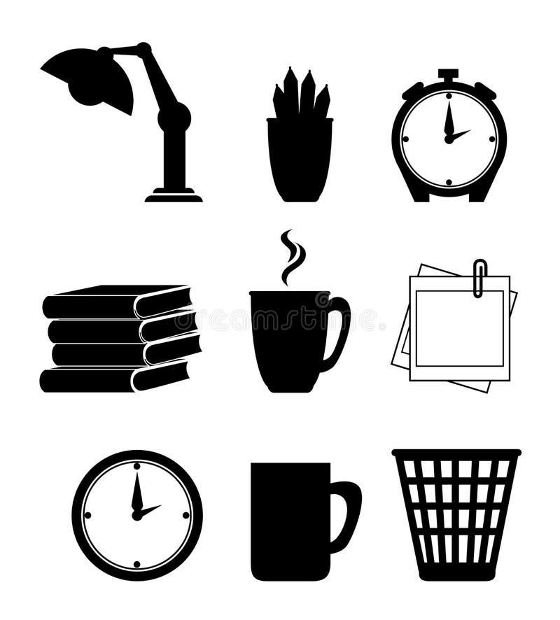 Het ontwerp van het het werkbureau stock illustratie