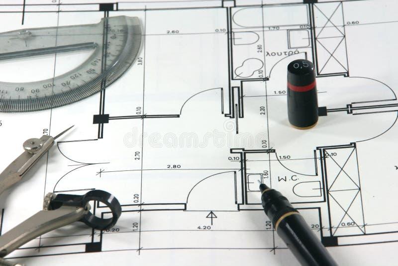 Het ontwerp van het huis royalty-vrije stock foto