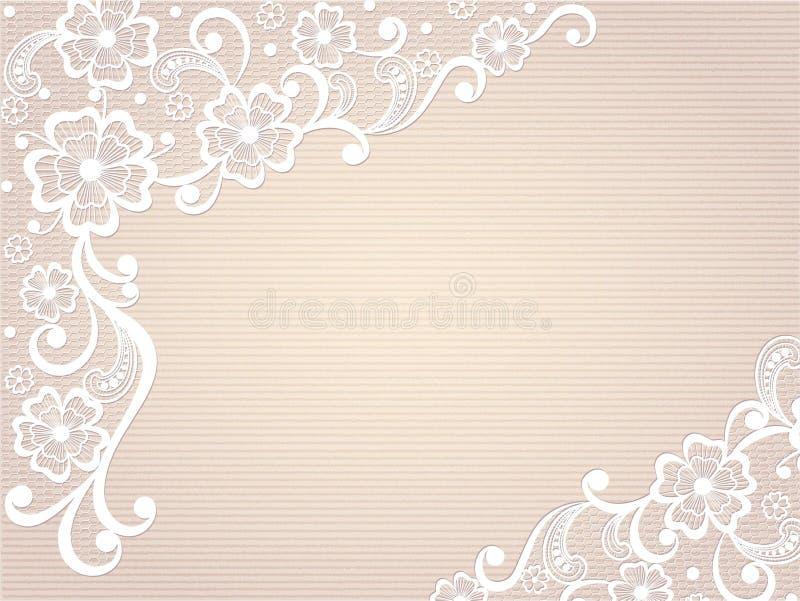 Het ontwerp van het malplaatjekader voor kaart. stock afbeelding