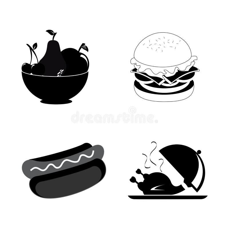 Het ontwerp van het menu royalty-vrije illustratie