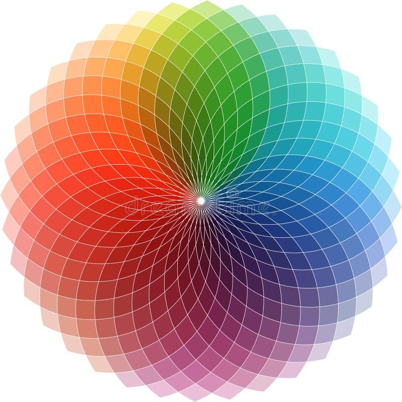 Het ontwerp van het spectrum vector illustratie