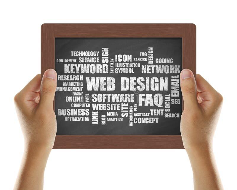 Het Ontwerp van het Web stock afbeelding