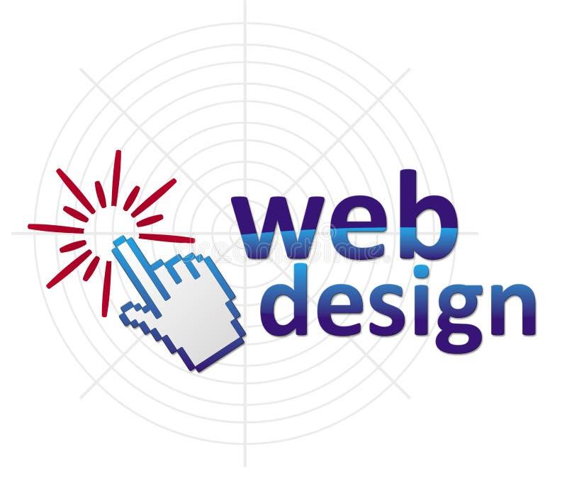 Het ontwerp van het Web royalty-vrije illustratie