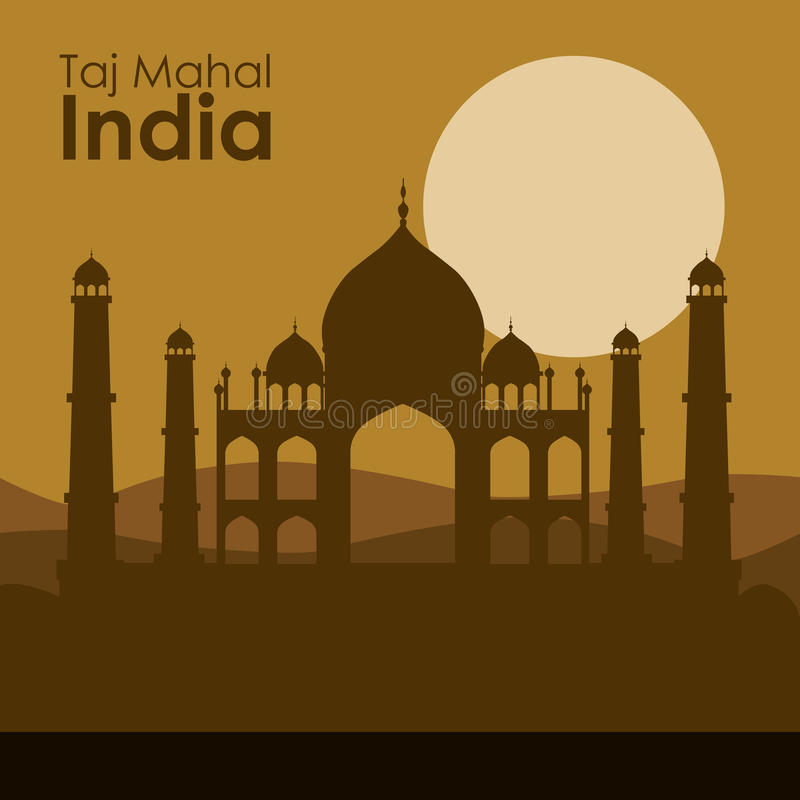 Het ontwerp van India royalty-vrije illustratie