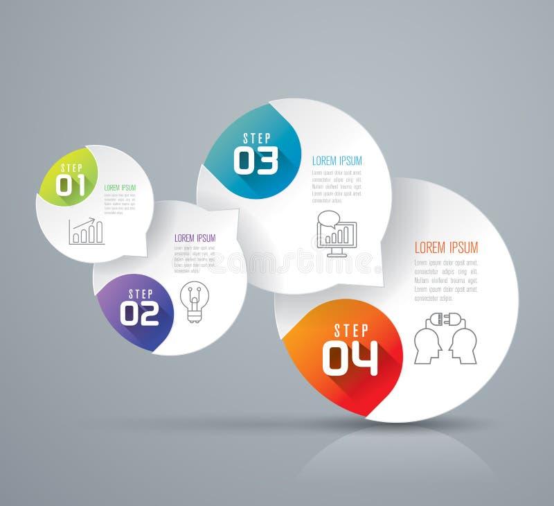 Het ontwerp van Infographics stock illustratie