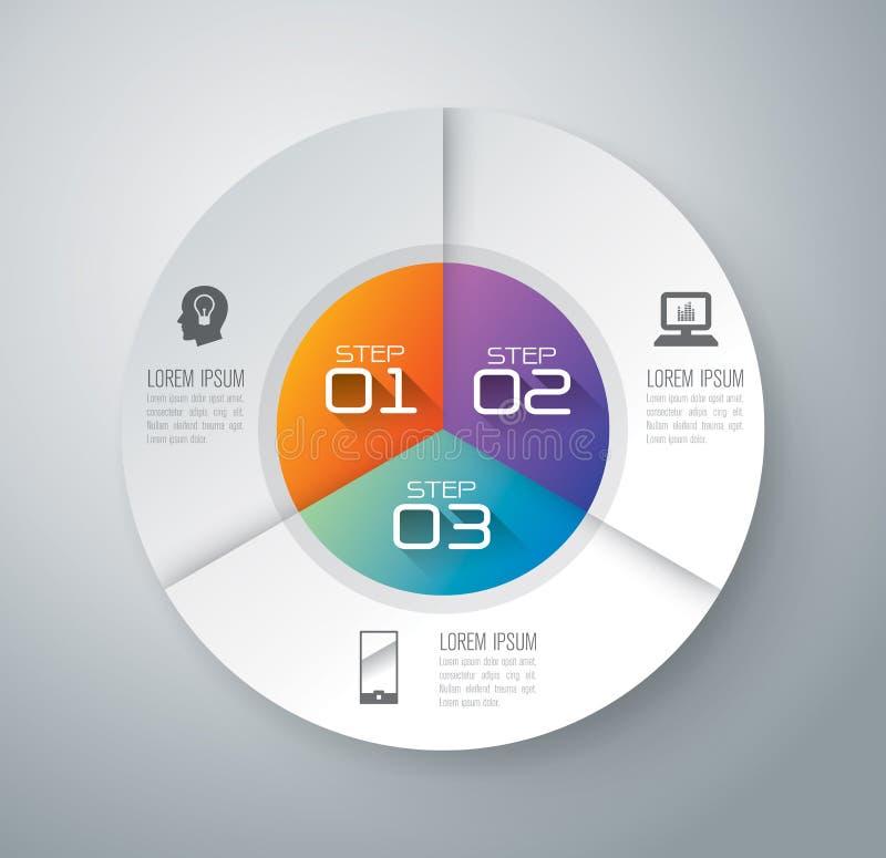 Het ontwerp van Infographics royalty-vrije illustratie