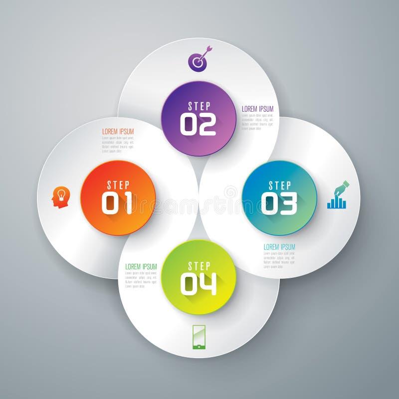 Het ontwerp van Infographics vector illustratie