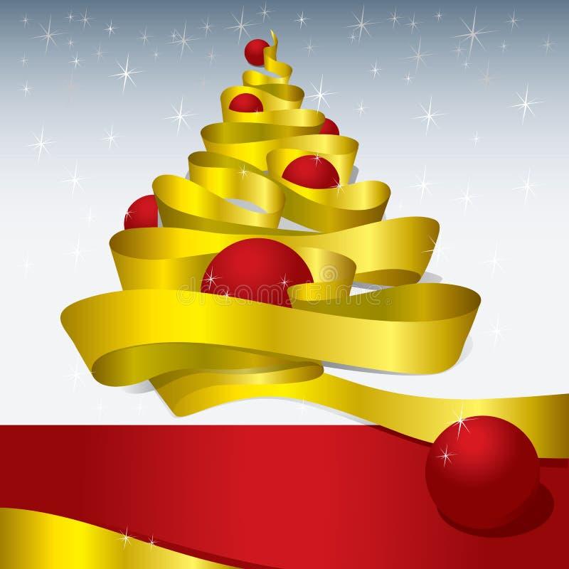 Het Ontwerp van Kerstmis (vector) stock illustratie