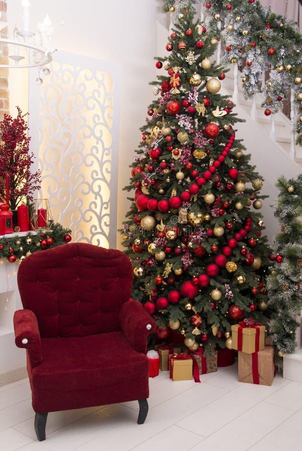 Het ontwerp van het Kerstmishuis stock afbeelding