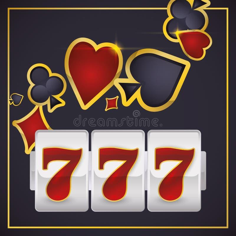 Het ontwerp van Las Vegas royalty-vrije illustratie