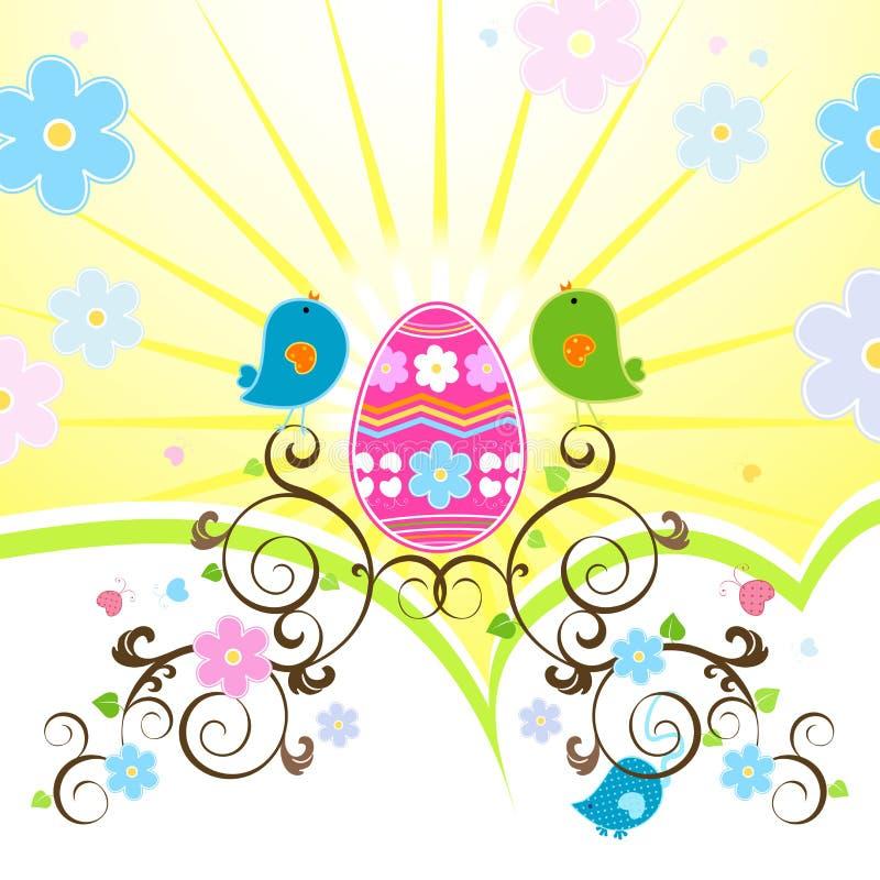 Het ontwerp van Pasen stock illustratie