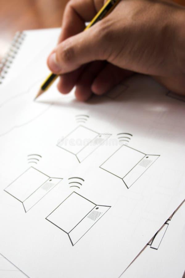 Het ontwerp van Wifi royalty-vrije stock fotografie
