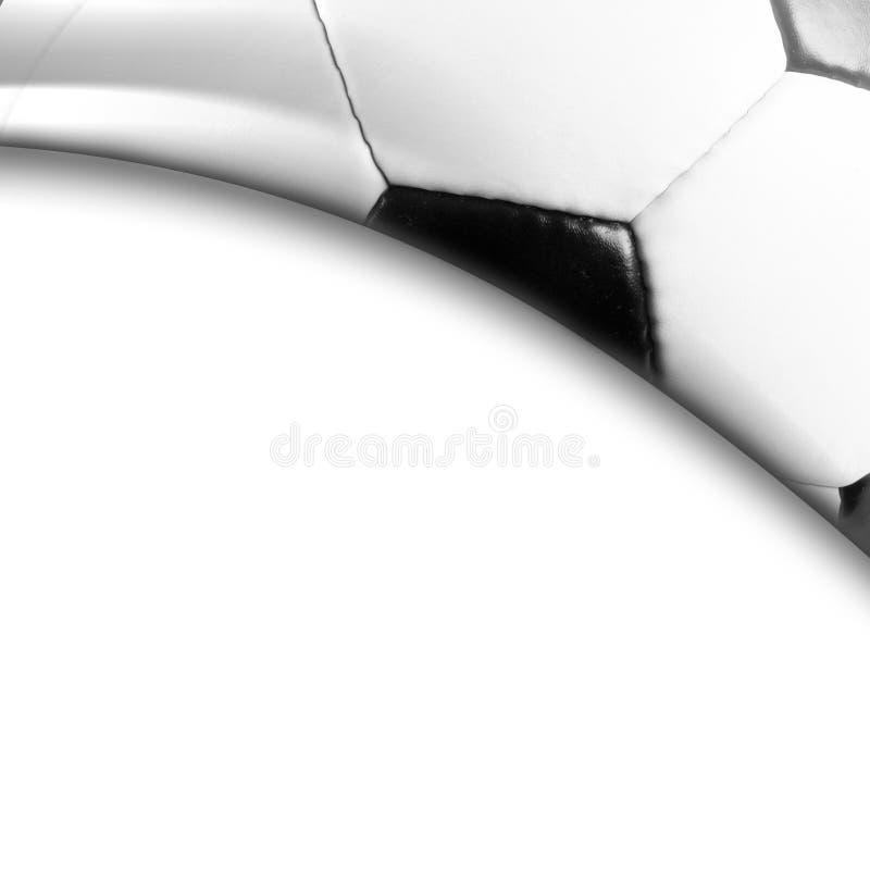 Het ontwerpachtergrond van de voetbalbal royalty-vrije stock foto's
