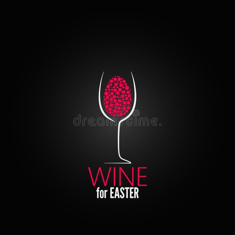 Het ontwerpachtergrond van wijnpasen