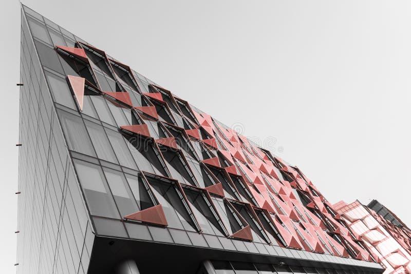 Het Ontwerpdistrict van Doubai Gewaagde Moderne Architectuur stock afbeelding